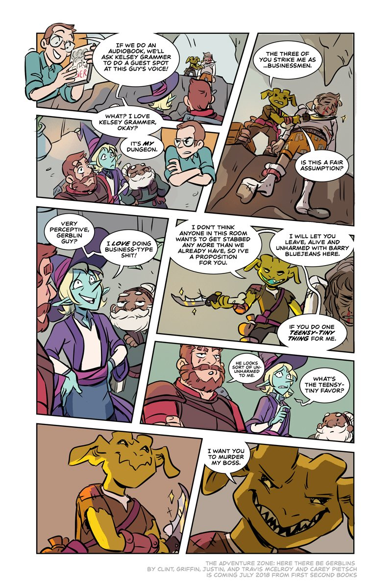 TAZ Page 5 reveal